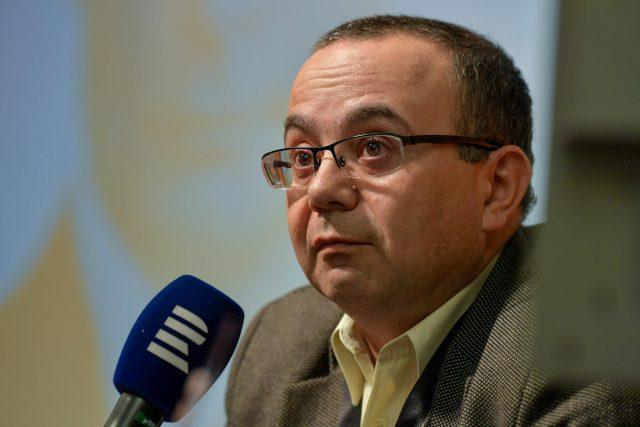 Politický geograf Michael Romancov na debatě Českého rozhlasu Plus o Rusku